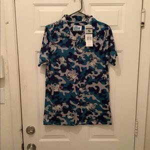Men's Drill clothing Polo small shirt